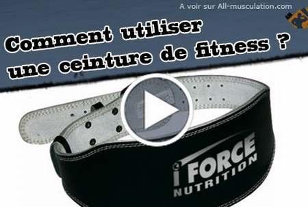 Ceinture de musculation abdo tonic ceinture de musculation pour homme ceinture de musculation - Ceinture dorsale homme ...