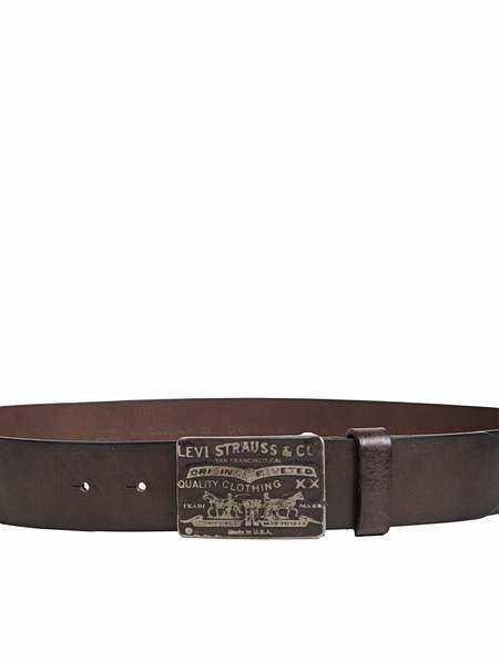 ceinture cuir marron levis ceinture levi 39 s jefferson ceinture en cuir homme levis. Black Bedroom Furniture Sets. Home Design Ideas